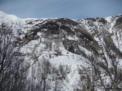 montée vers le Mont Seita