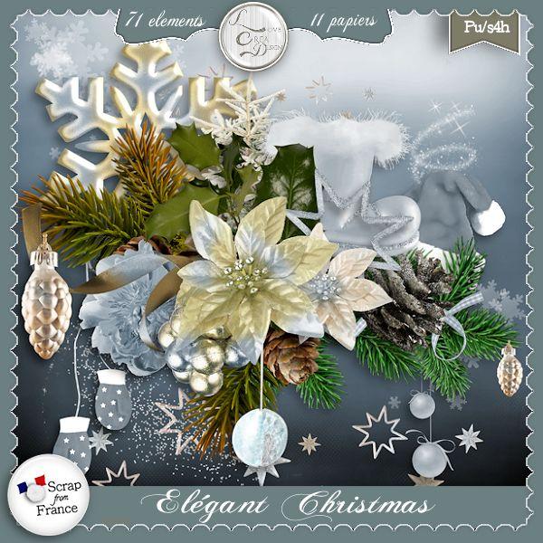 Elegant Christmas by Love Créa Design