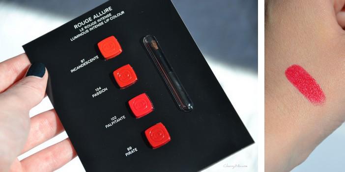 Le clic, le rouge, l'Allure!