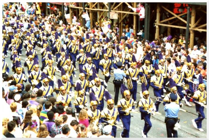 Voyage en 1991. Nouvelle-Orléans 2