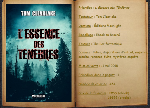 L'Essence des Ténèbres - Tom Clearlake