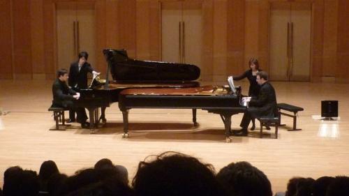 Concert à deux pianos
