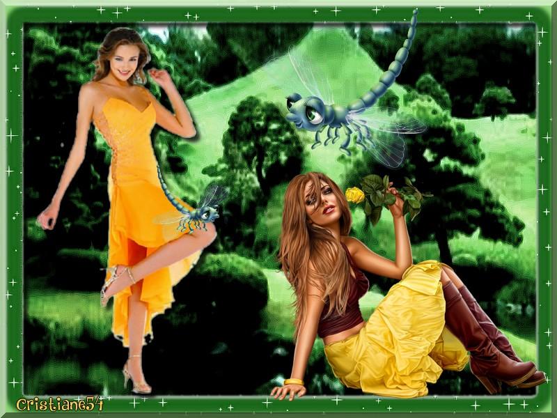 Défi pour Beauty les Libellules ,