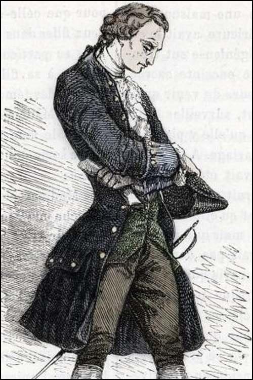 Le grand almanach de la France : L'exécution du chevalier de la Barre.
