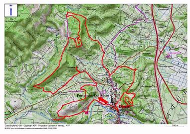 La Boucle de Canto-Perdrix (180 m) depuis Portel-des-Corbières (