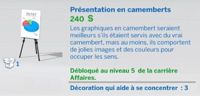 """Carrière """"Affaires"""""""