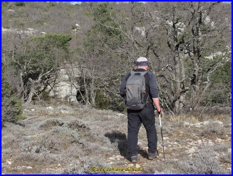 Le bénitier du plateau d'Agnis