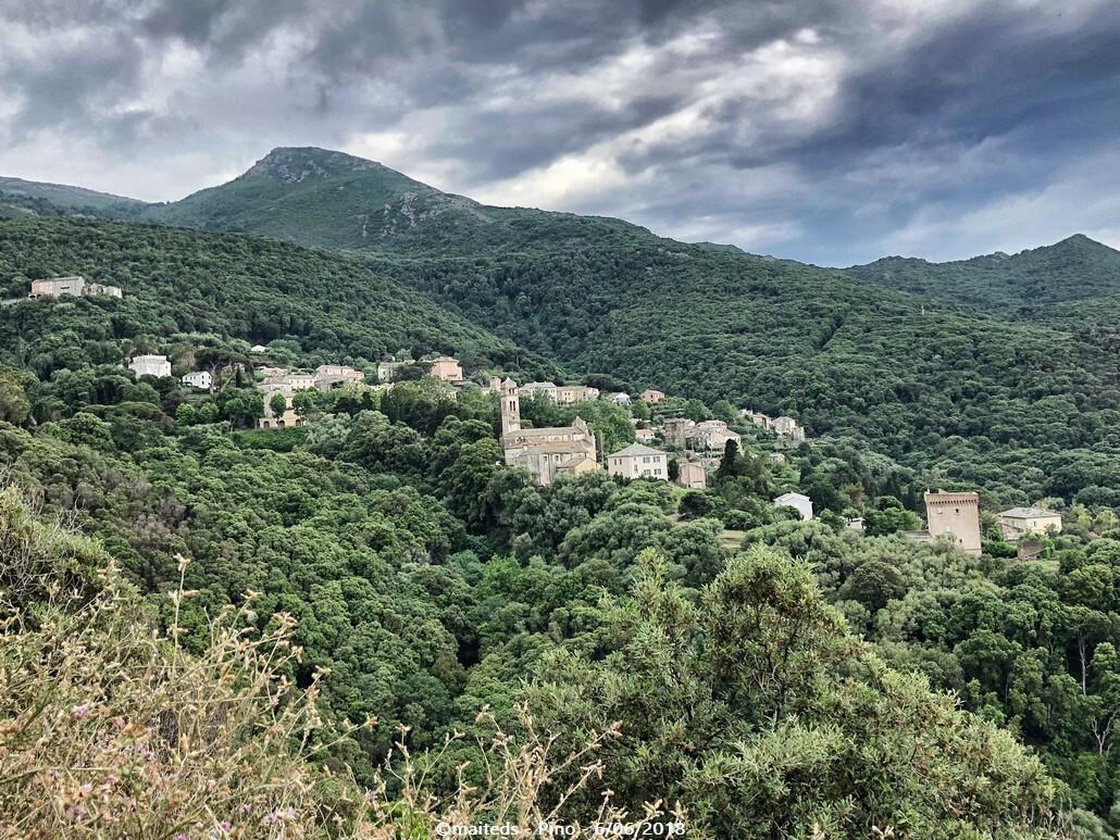 Village de Pino - Corse