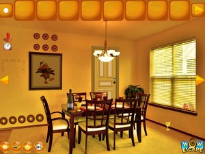 Jouer à Thanksgiving party house escape