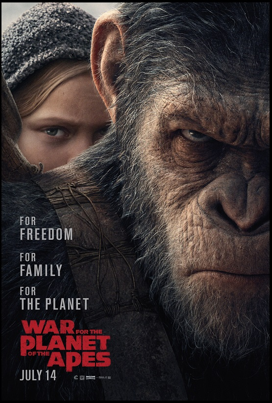 [Critique] La Planète des Singes - Suprématie (War for the Planet of the Apes)