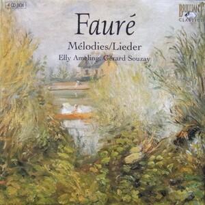 CD de Fauré « Intégrale des Mélodies »