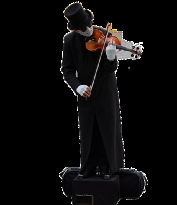 Femme ou homme ( avec un  instrument de musique ) 1
