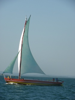 Navigation dans la baie de SALVADOR
