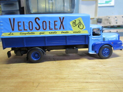 Les VeloSolex en maquettes