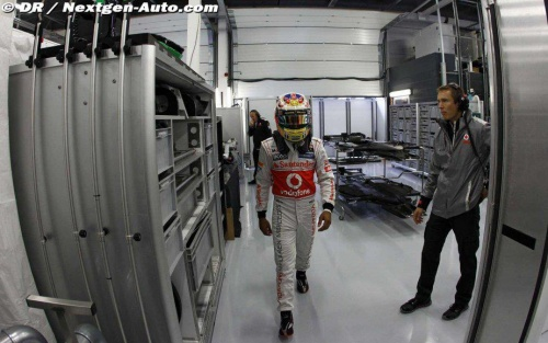 Whitmarsh : McLaren n'a pas perdu la saison 2012