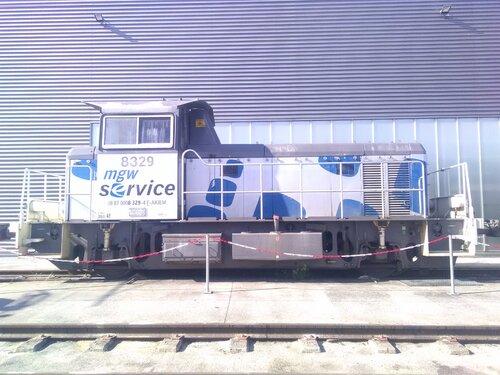 Nouvelle livré pour Y 8000 SNCF