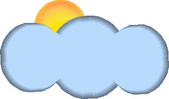 Tubes nuages soleil