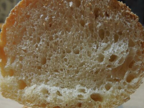 pain blanc sur poolish