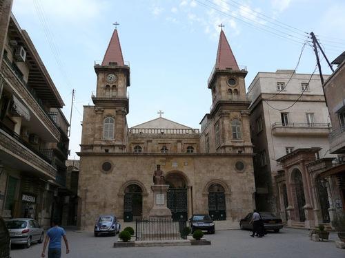 la cathédrale maronite d'Alep