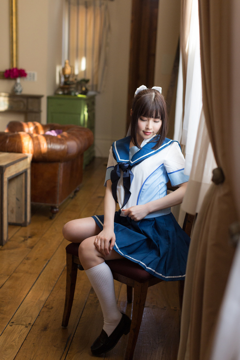 Models Cosplay : ( [bit(ビット)] - |bit.026 - 2015.05.05| WORKS - CD-ROM / Yurina Ayashiro/彩城ゆりな : Ruban )