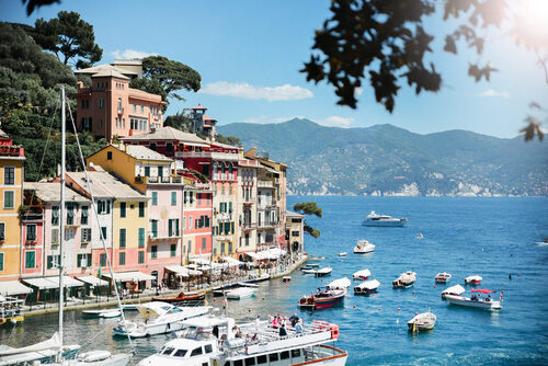 ITALIE. Portofino, 4k  (Voyages)