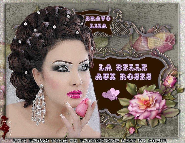 """Défi 7 """"La femme aux Roses"""""""