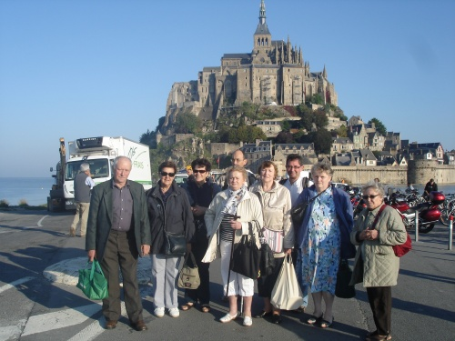 PELERINAGE AU MONT SAINT MICHEL