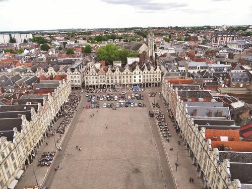 Arras: autour du Beffroi (photos)