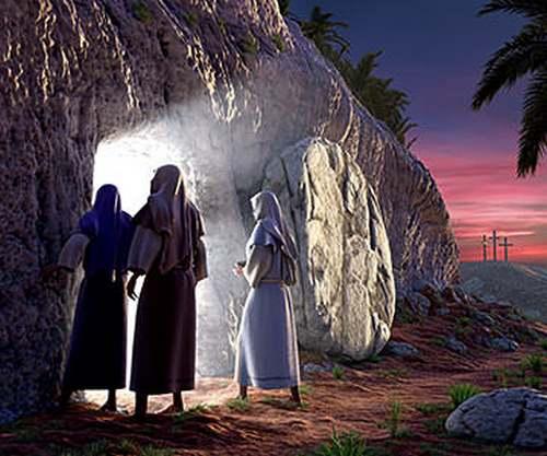 """"""" Jésus est resuscité """" c'est le jour de Pâques"""
