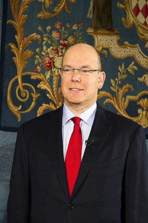 Voeux du prince Albert de Monaco