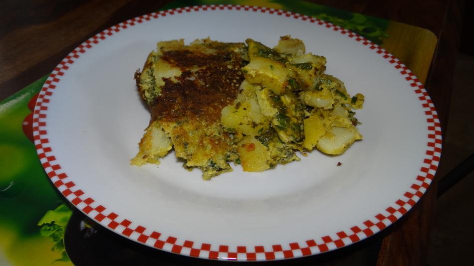 Omelette du Jardin de Nanie