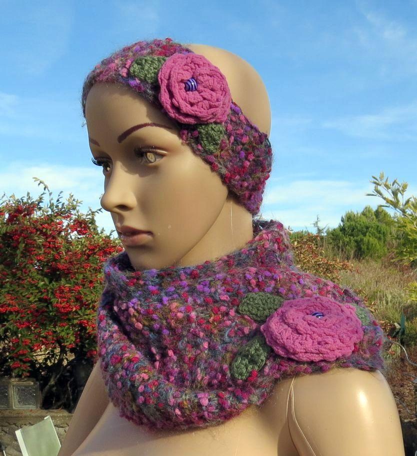 Bonnets, snoods, écharpes et jambières pour noël