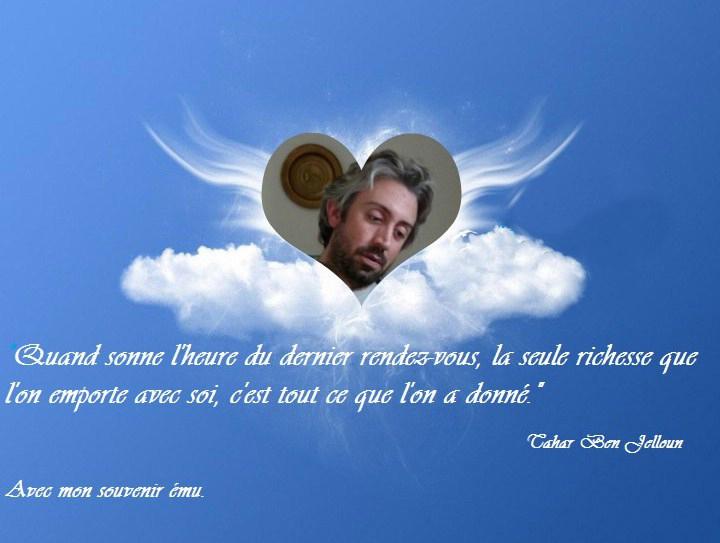 A toi Xavier, dans nos coeurs