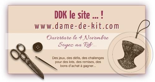 Blog candy chez Dame de kit