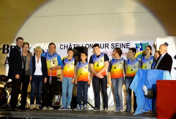 Les Lauriers du Sport 2014 à Châtillon sur Seine