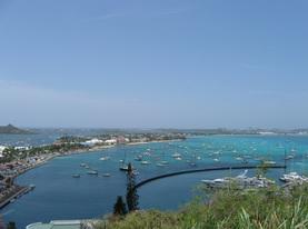 Iles de Saint-Martin et de Saint-Barthélemy avant Irma