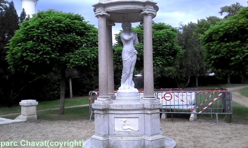 les cents ans du parc Chavat de Podensac (Gironde)