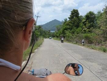 22 Juillet 2013 - Ko Phangan - Côte Est en scooter