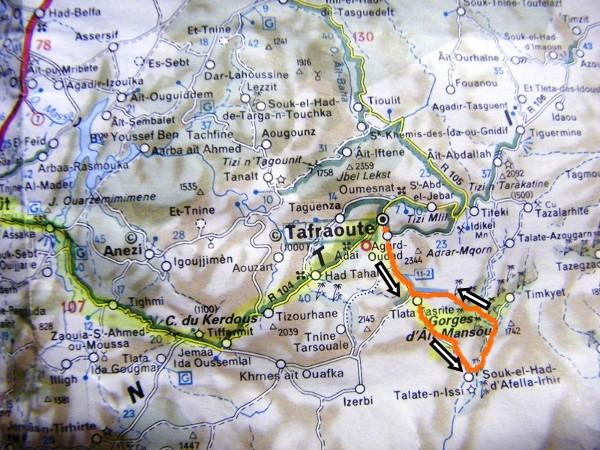 Tafraout - Ait mansour - Tafraout (1)