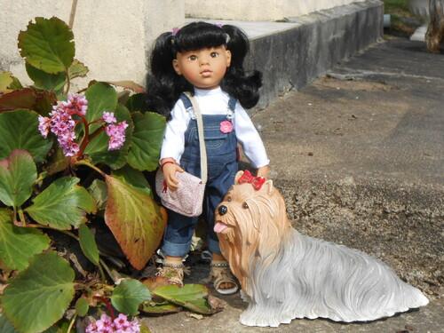 Les poupées au printemps