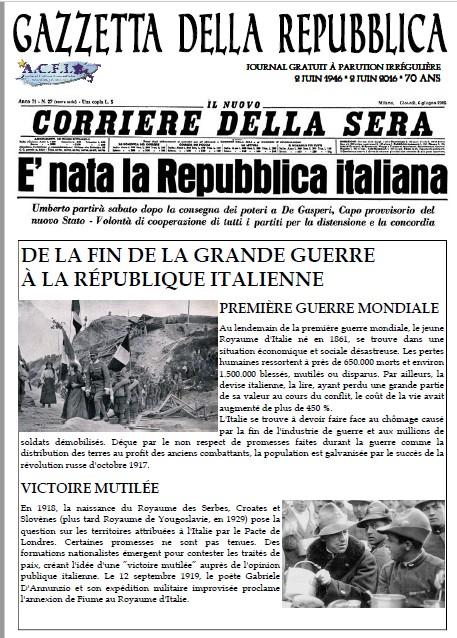 Naissance de l'Italie