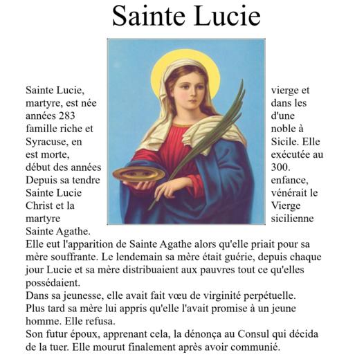 Ste Lucie