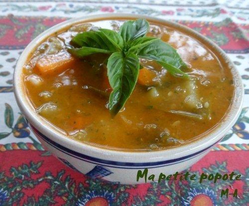 Soupe au pistou ardéchoise