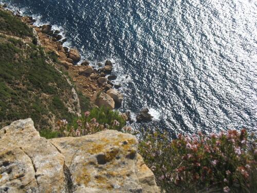 La mer vue du Cap Canaille