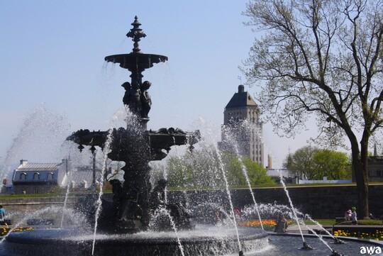 La belle ville de QUEBEC, en mai 2016