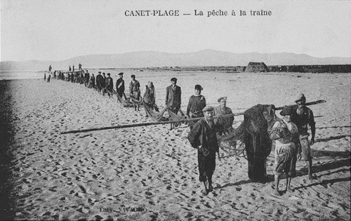 canet-plage traine