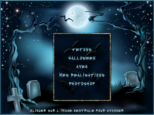 Diaporama Halloween Effet Défilement