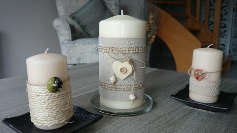 Trio de bougies...