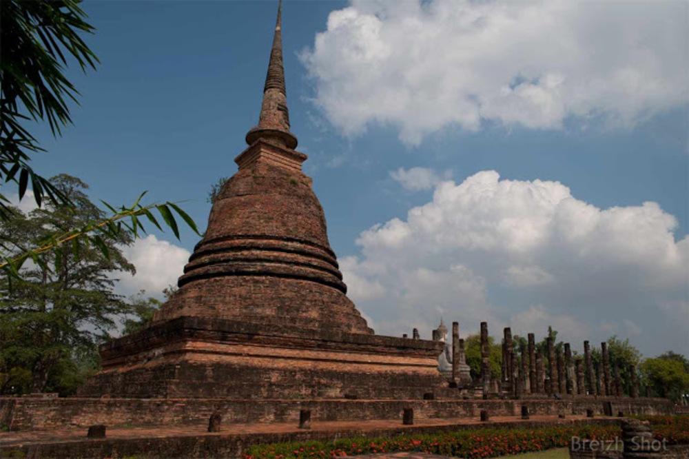 Wat Tra Phang Ngoen, Sukhothai - Le chédi