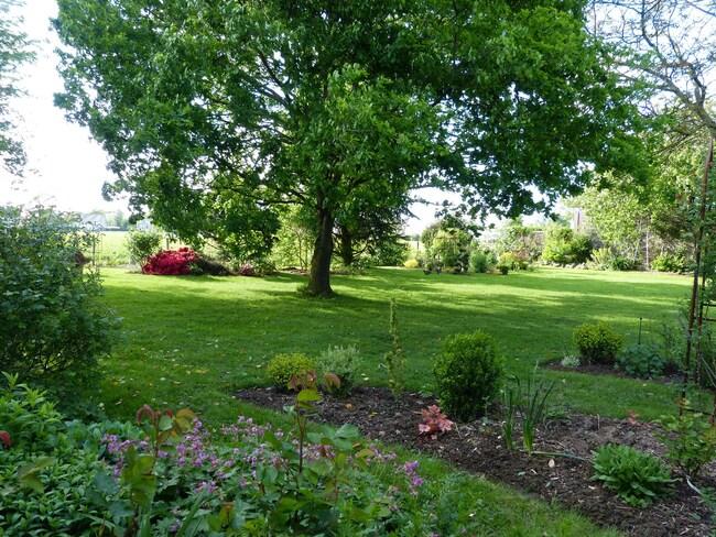 Le jardin le 5 mai 2015